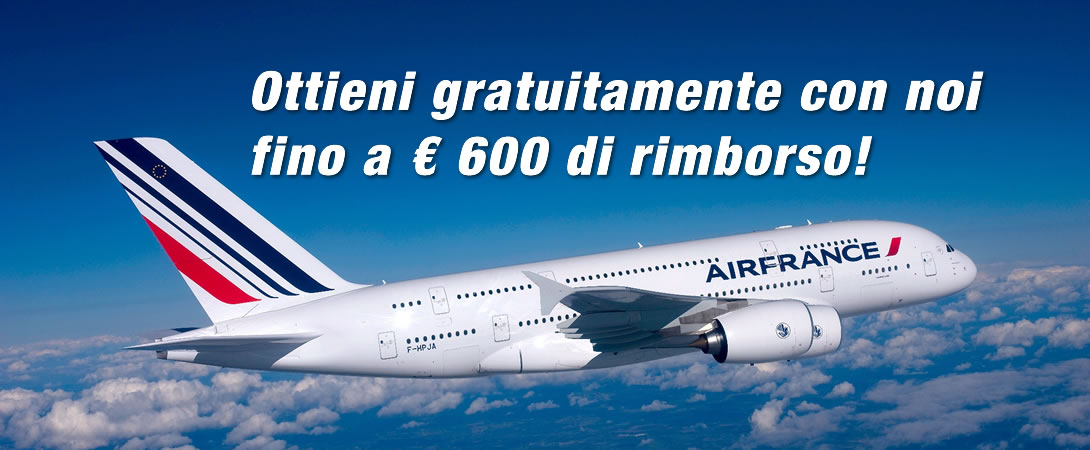 Rimborso Volo Cancellato Air France
