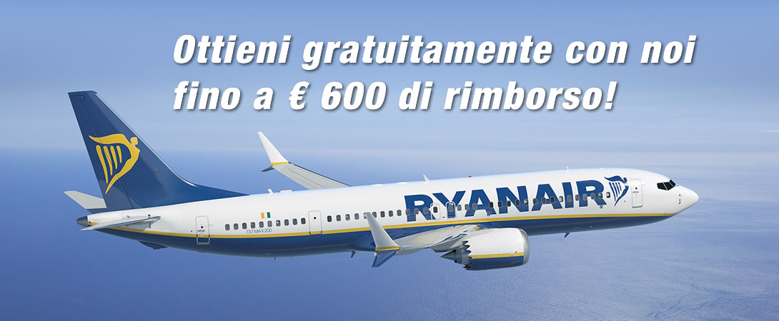 Rimborso Volo Cancellato Ryan Air