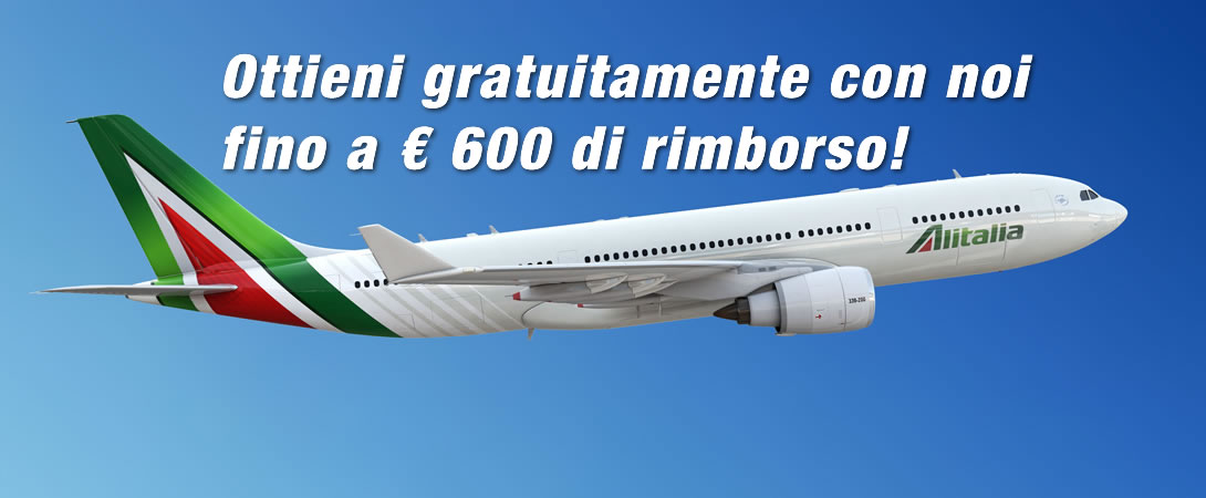 Rimborso Volo Cancellato Alitalia